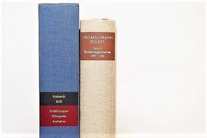 THOMAS MANN ESSAYS -2set- /display book