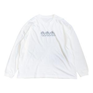 いのちのTシャツ White / Long Sleeve