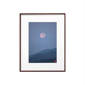 沈む月(ホワイトボード)A4サイズ