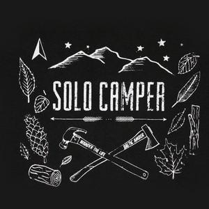 【完全受注】Solo Camp スウェット【ブラック】