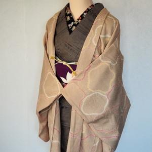 正絹 丸梅絞り柔らかな羽織