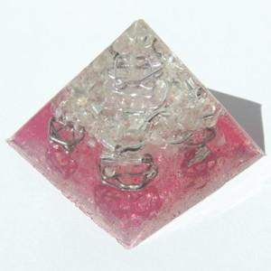 プレミアムピラミッド クリスタルピンク