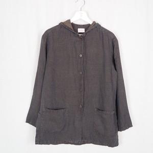 Hooded Linen Jacket