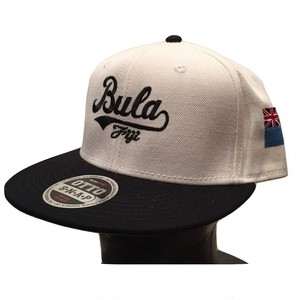 Bula Fiji SnapBack/White
