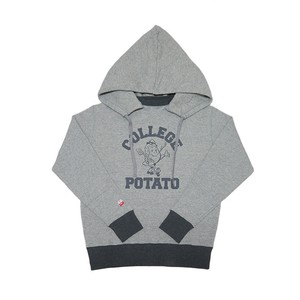 ATTACHED HOODIE SWEAT COLLEGE POTATE
