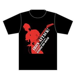 ☆少量再入荷☆IRON ATTACK!★2014アラウンドザワールドTシャツ