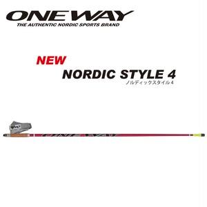ONE WAY ノルディックウォーク NORDIC STYLE 4 アグレッシブプロモデル ow10231
