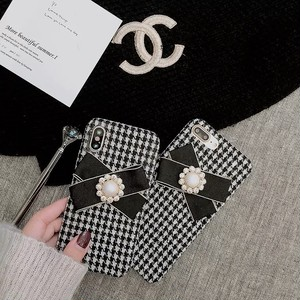 ribbon monotone  iPhone case