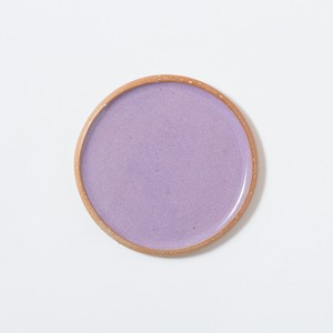 plate small〈purple〉