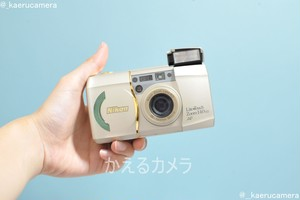 Nikon Lite Touch Zoom140 ED QD フィルムカメラ