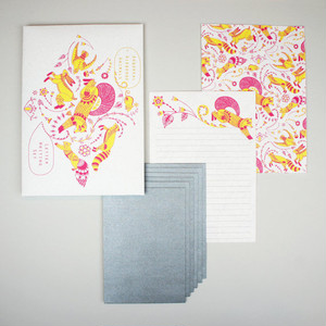 Letter Writing Set - Arboreal + Airborne