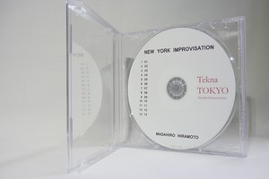TT008 NEW YORK IMPROVISATION(平本正宏サイン付きCD-R)