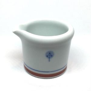 【砥部焼/梅山窯】玉縁クリーマー(たんぽぽ)