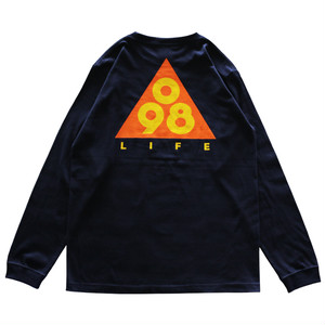 Triangle 098 L/S Tee / LIFEdsgn (ORANGE)