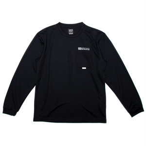 100A DRY L/S TOP WITH POCKET*