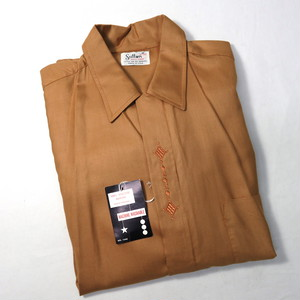 NOS 1960's OLD RAYON BOX SHIRTS (デッドストクオープンカラーシャツ ) AS IS