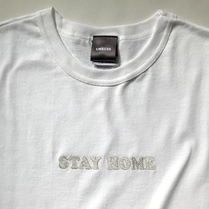 Stay Home T-Shirt (White)