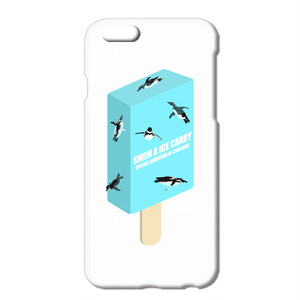 送料無料 [iPhone ケース] Swim a Ice Candy