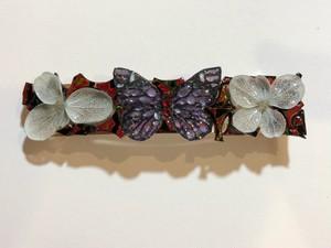 花と蝶と津軽塗