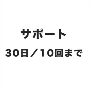30日サポート