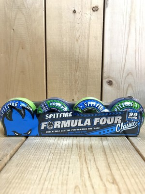 SPITFIRE CLASSIC MASH UP FORMULA FOUR 99DU 52mm