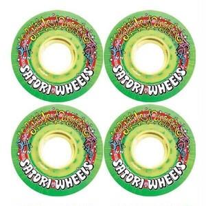 SATORI WHEELS / soft wheel /  LIL NUGZ  / GREEN / 54mm / 78a