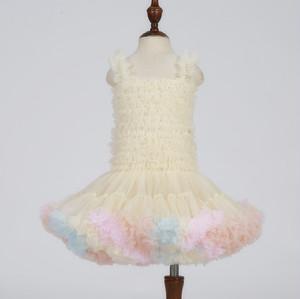 8371キッズワンピース tutuワンピース チュチュワンピース キャミソール 子供ドレス キッズドレス ベビーチュールワンピース 女の子ワンピース