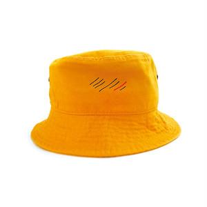 scar ///////  BLOOD BUCKET HAT (Yellow)