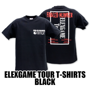 ELEXGAME TOUR T-SHIRTS[BLACK]
