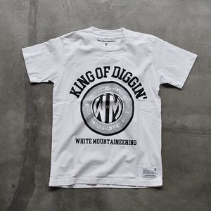 "White Mountaineering  PRINTED T-SHIRT ""KING OF DIGGIN"""