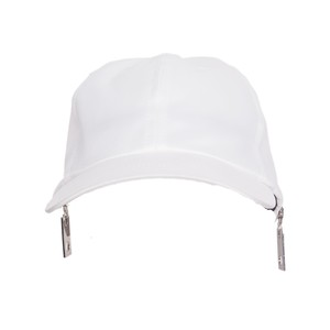 Baseball Zip Cap(White)