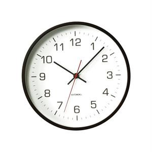 KATOMOKU plywood wall clock 4 km-44BRC 電波時計