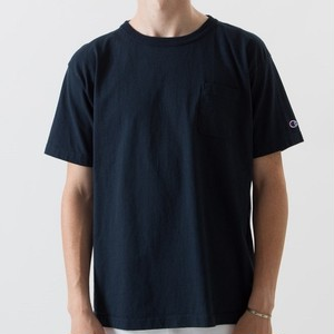 Champion / チャンピオン | T1011 USA T-Shirt with pocket / ネイビー