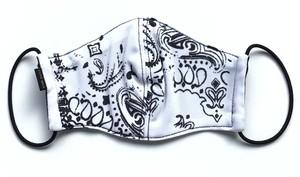 【デザイナーズマスク 吸水速乾COOLMAX使用 日本製】PAISLEY MASK CTMR 0201