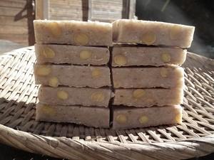 大豆入り玄米餅 1升 (板状)