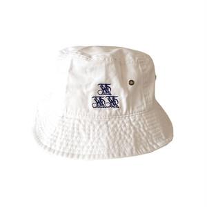 KP TOKYO - KP 3DOTS BUCKET HAT (White)