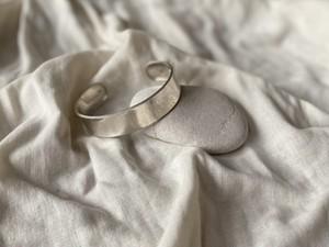 〈vintage silver925〉simple flat bangle
