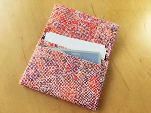 都大島紬反物から名刺カードケース