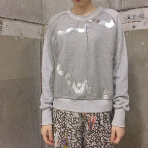 【SALE】spoken words project raglan sweat 砂山