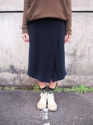 ウールスリットスカート