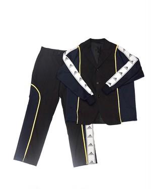 remake jersey set-up (navy×pinstripe black)