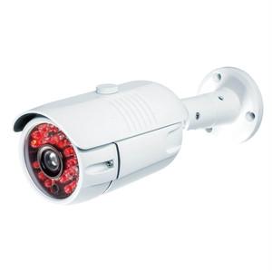 暗くなると赤色LEDが点灯「ダミーカメラ」