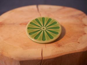 鎬の豆皿 / 緑 / 陶器 / 器