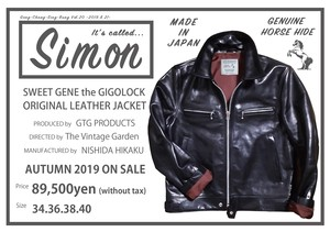 SIMION Leather Jacket Produced by GTG PRODUCTS