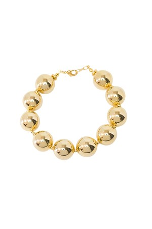 Metal Ball Bracelet | GOLD