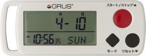 心拍計測ができる歩数計 GRS002