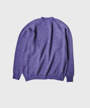 crepuscule exclusive mohair knit PURPLE