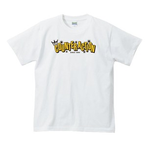 KLUB COUNTER ACITON OFFICIAL T-SHIRT : 2(ホワイトボディー)