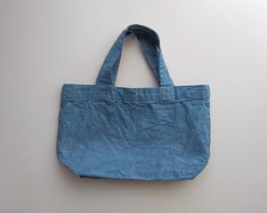 草木染め 藍染めトートバッグ a