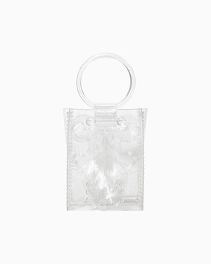 【MAME KUROGOUCHI】 Transparent Sculptural Mini Handbag MM9-AC096